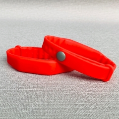 Custom Wearable RFID HF Silicone 13.56MHz Wristbands
