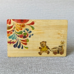 Wooden RFID Cards